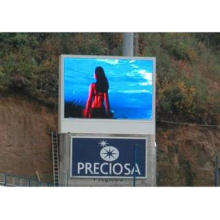 Large Creative Outdoor LED Display Signs real and virtual p