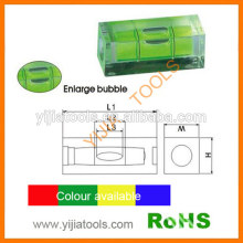 Yijiatools high quality square machined bubble level