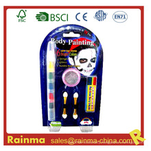 6 in 1 Body Painting Crayon for Halloween Decoration Gift