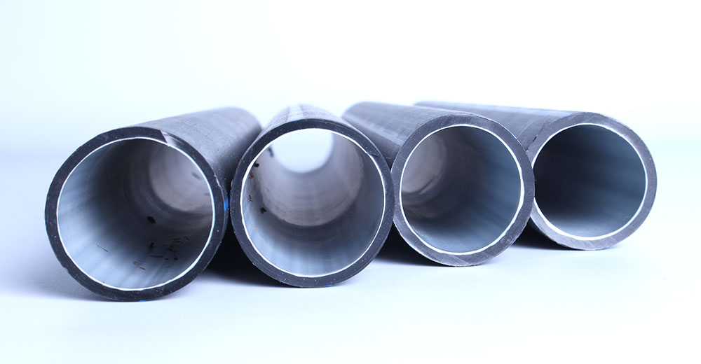 Silicone core duct