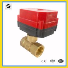 Válvula de bola eléctrica de montaje rápido CXW_50K para calefacción o sistema de fan coil