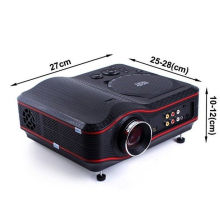"""Lcd 3.2""""home Theater Portable Dvd Projector With Usb For Education"""