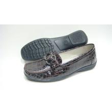 Zapatos cómodos de la señora de la venta caliente con la suela de TPR (Snl-10-076)