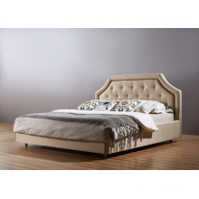 Queen Bed for Hotel Furniture, Fabric Bed (A05)