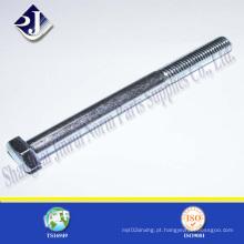 Parafuso sextavado galvanizado ISO4014