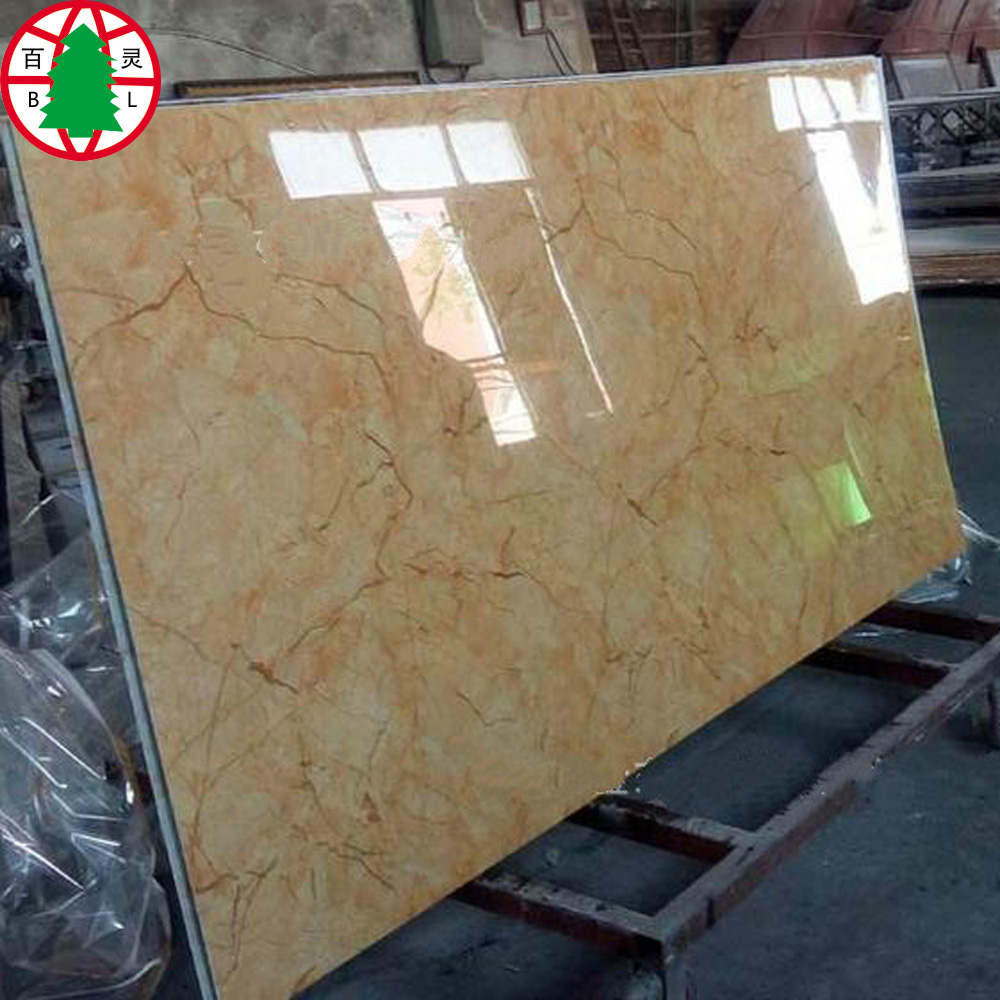 Tablero MDF de melamina UV Brillante Alta 18mm