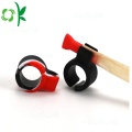 Mixing-color Easy Smoking Silicone Ring for Cigarette Hold