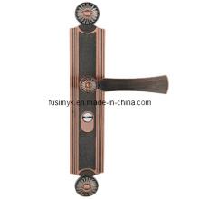 Fusim высокое качество Красный Бронза ручка двери (Альфа-6027LL)