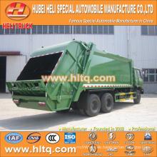 DONGFENG 6x4 16/20 m3 Schwerlastabfall Hecklader LKW Dieselmotor 210hp mit Pressmechanismus