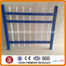 zinc steel white garden fence (made in Anping,China )