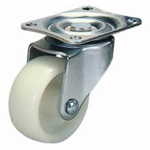 Swivel Nylon Furniture Caster Wheel (White)