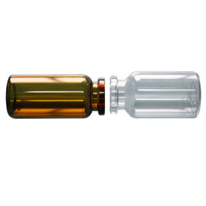 Organic Siliconized Glass Vials