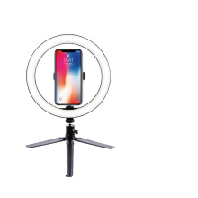 10inch 26cm Lightdow Big/Small Dimmable Led Circle Ring Light  With Tripod Stand Light Lamp With Tripods Ring Table Fill Light