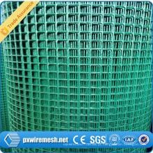 O PVC da alta qualidade revestido / galvaniza a rede de arame soldada