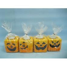 Хэллоуин свеча формы керамических ремесел (LOE2372-B7z)