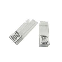 Cajas de regalo de acetato transparente impresas en PVC PET plegables