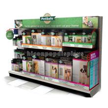 Fabrik-Preis China bildete Fußboden-Metallhund Safe Produkte Haustier-Nahrungsmittelklein-Speicher-Anzeigen-Versorgungsmaterialien