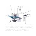 Dental Unit Chair Electric Treatment Machine