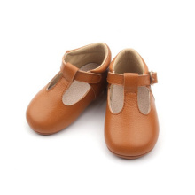 T-bar Soft Sole Dress Baby Shoes Wholesale