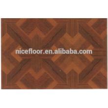 Requintado piso de madeira Parquet piso de madeira engenharia