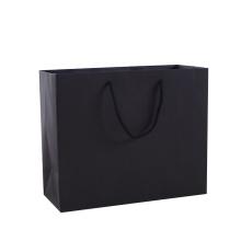 custom logo size kraft paper bags with handle