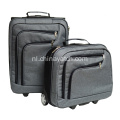 Zakelijk 2 stuk Carry-on-trolley bagageset