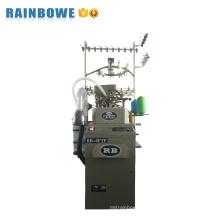 RB-6FTP moda criativa jacquard cinco dedos terry meia máquina de confecção de malhas à venda para todas as idades