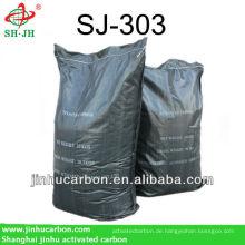 Aktivkohle mit starker Adsorption, verwendet in entfärbenden Inhaltsstoffen