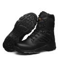 Botas militares de cuero genuino de la alta calidad y botas tácticas de la policía (31002)