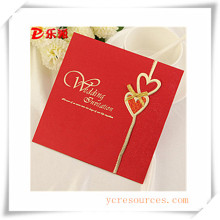 Tarjetas de felicitación para regalo promocional (OI39008)