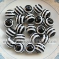 8-12MM Jewelry Resin Stripe Chunky Beads