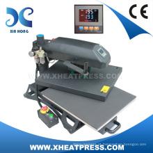 China por atacado preço fuzhou máquina de transferência de calor para camisetas personalizadas