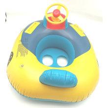Barco inflável de brinquedo de bebê com alça