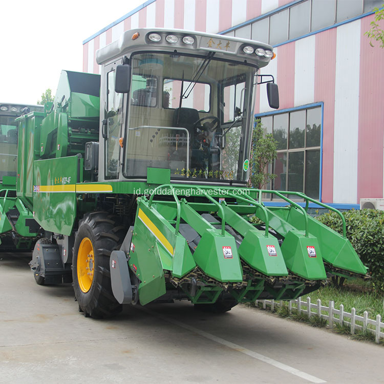 apa yang self propelled corn combine harvester