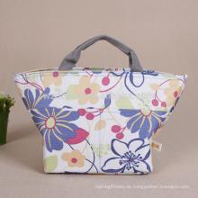 Wiederverwendbarer heißer Verkaufs-kundenspezifischer Großverkauf-Polyester-Kühler Tote Carry Bag für Lebensmittel-Verpackung