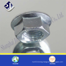DIN6923 Flange Nut with Zinc Plated