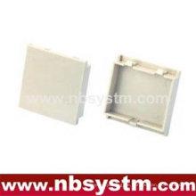 Blank Plate für die 2 Ports UK Typ Faceplate 50x50mm