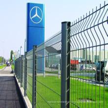 Valla de seguridad soldada de alambre de hierro para valla de separación