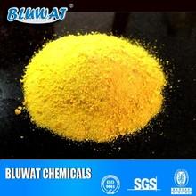 30% Содержание Al2O3 Желтый ПКК для очистки сточных вод