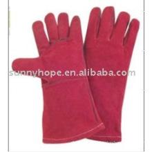 Цветные сварочные перчатки