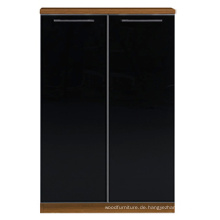 Guangzhou Büromöbel Black Office Cabinet für Executive (FOH-ECW080B)