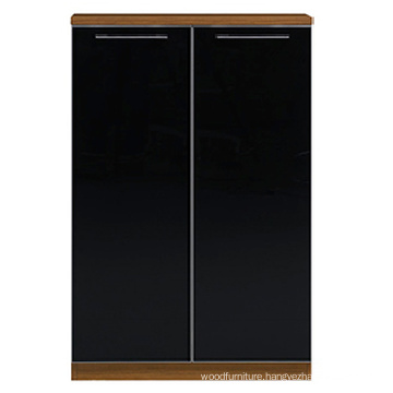 Guangzhou Office Furniture Black Office Cabinet for Executive (FOH-ECW080B)