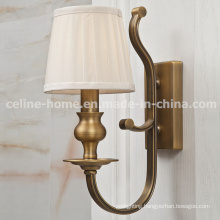 Hot Sale Iron Wall Light with Fabric Shade (SL2091-1W)