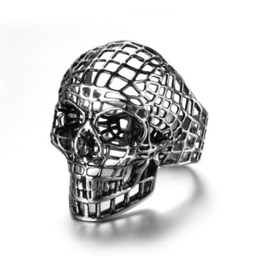 Large inventory Hollow two colors skull ring