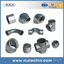 China Encaixe de tubulação maleável ductile do ferro fundido do costume Ggg50 da fundição