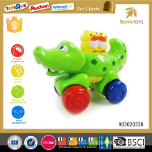 Music baby animal crocodile toy