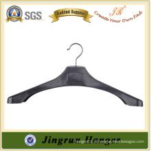 Leading Supplier Metal Hook Plastic Hanger de moda para terno