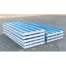 Full Automatic CE Standard EPS PU Sandwich Wall Panel Linha de produção para venda, EPS Cement Sandwich Exterior Painel de parede