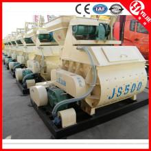 JS500 Mezclador de hormigón con tolva mecánica para la venta