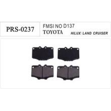 Semi-metallic original toyota brake pad high quality
